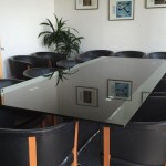 Where to sit in a meeting