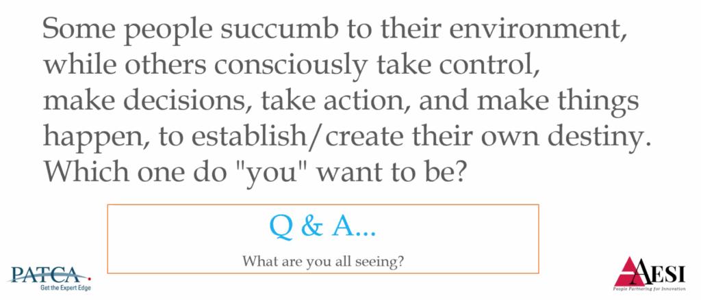 PATCA Q&A