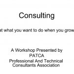 PATCA Consulting 101