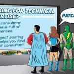 Superhero Post-a-Project